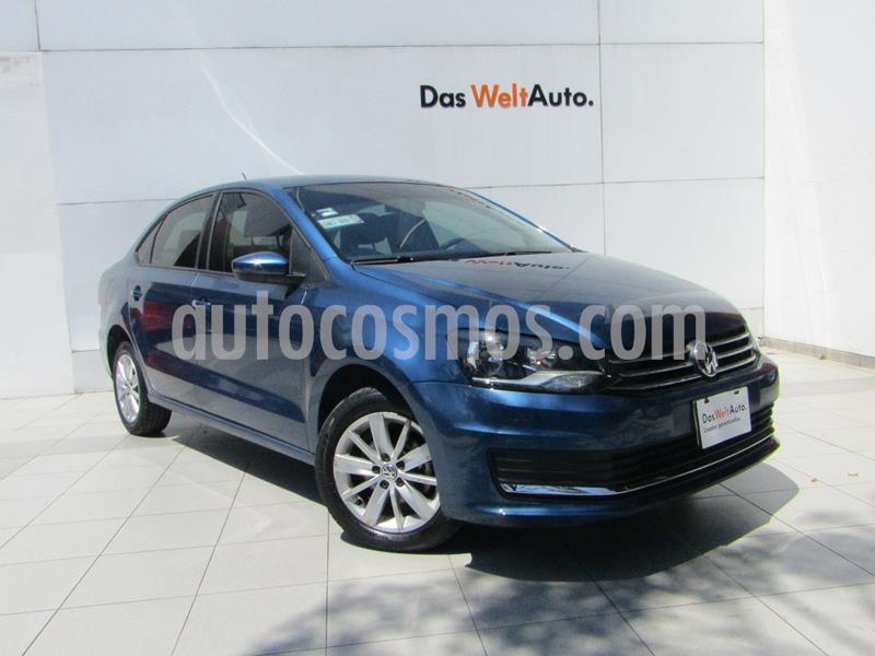 Volkswagen Vento Comfortline Aut usado (2017) color Azul precio $185,000