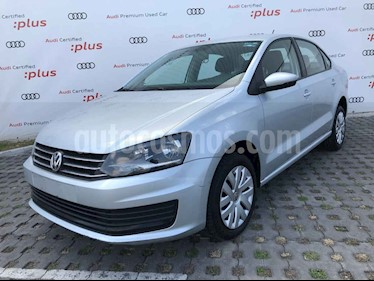 Volkswagen Vento 4p Starline L4/1.6 Man usado (2017) color Plata precio $169,010