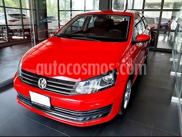 Volkswagen Vento Comfortline Aut usado (2016) color Rojo precio $147,000