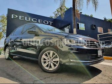 Volkswagen Vento 4p Confortline L4/1.6 Man usado (2017) color Negro precio $162,900
