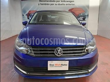 Volkswagen Vento Comfortline usado (2019) color Azul precio $207,000