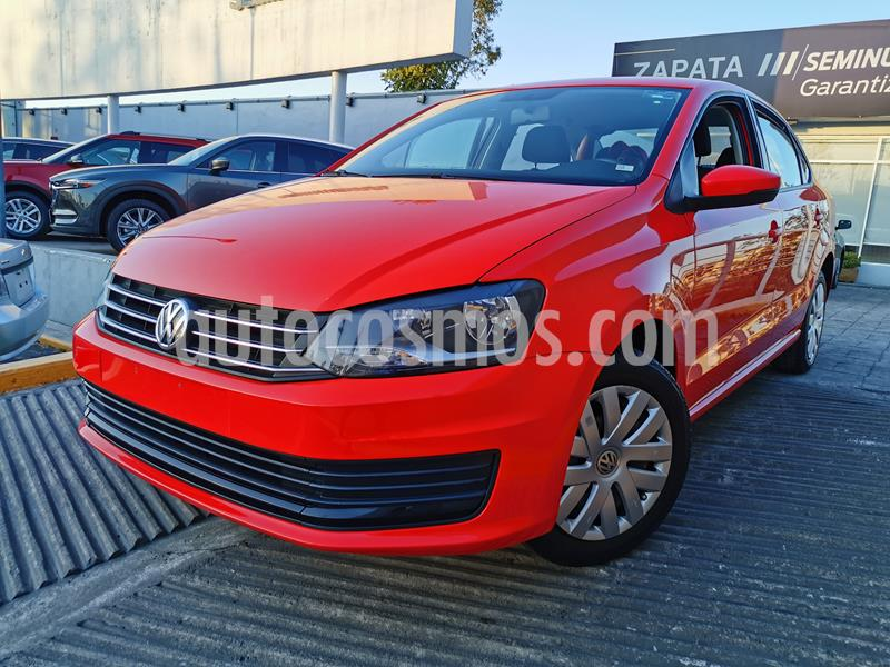 Foto Volkswagen Vento Startline usado (2019) color Rojo Flash precio $185,000