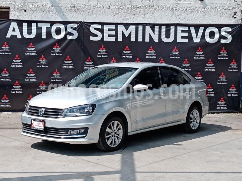 Volkswagen Vento Highline Aut usado (2017) color Plata Reflex precio $170,000