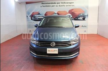 Volkswagen Vento Comfortline Aut usado (2019) color Azul precio $215,000