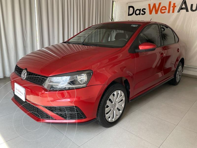 Foto Volkswagen Vento STARTLINE 1.6L L4 105HP MT usado (2020) color Rojo precio $219,000
