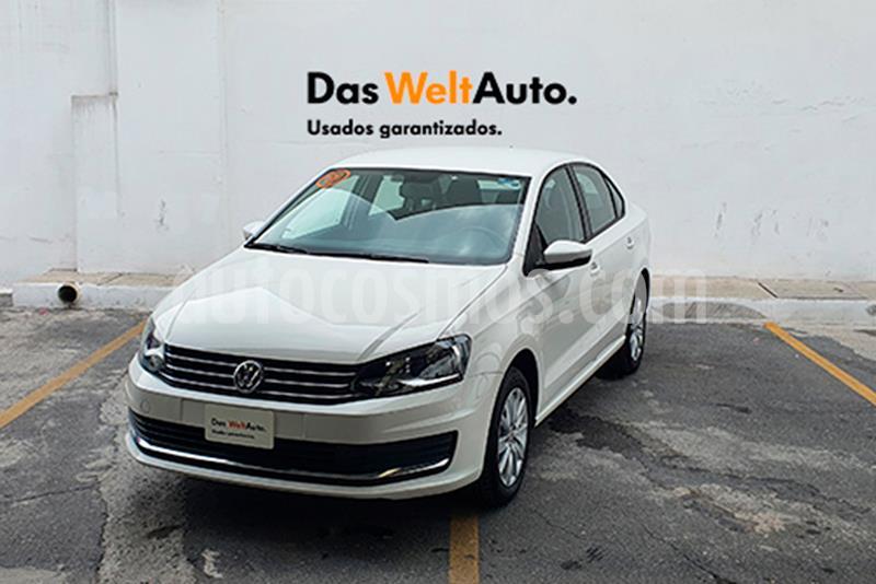 Volkswagen Vento Comfortline usado (2019) color Blanco Candy precio $239,000