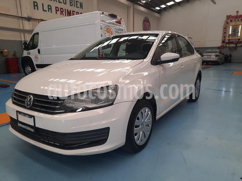Volkswagen Vento Startline usado (2016) color Blanco precio $143,000