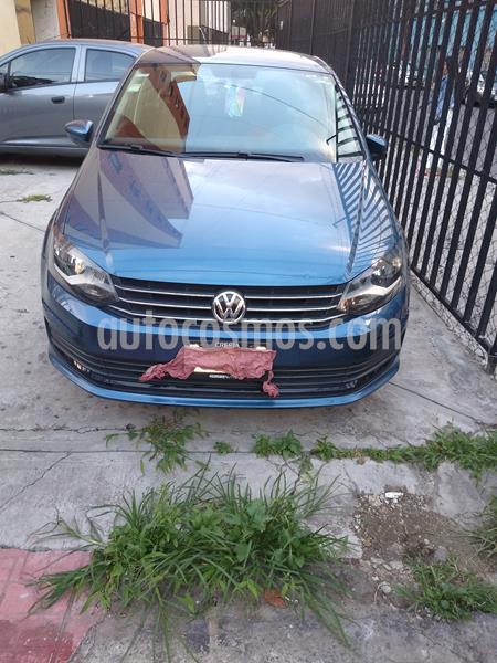 Volkswagen Vento Startline usado (2018) color Azul Noche precio $140,000