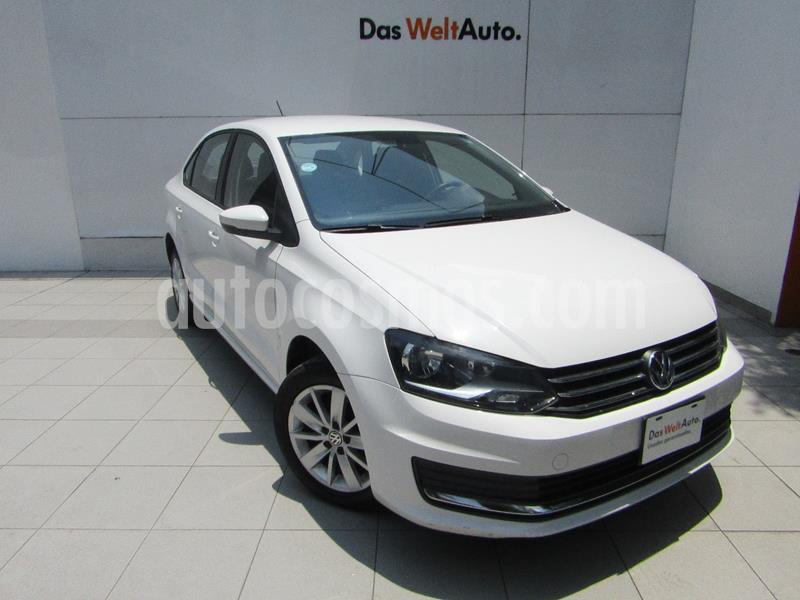 Volkswagen Vento Comfortline usado (2018) color Blanco Candy precio $179,000