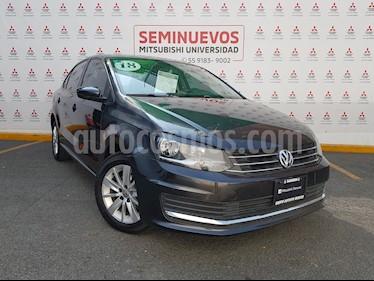Volkswagen Vento Comfortline usado (2018) color Gris Carbono precio $195,000