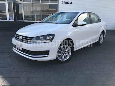 Volkswagen Vento 4p Confortline L4/1.6 Aut usado (2019) color Blanco precio $189,900