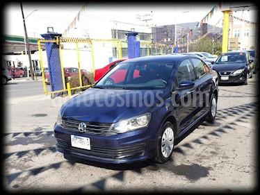 Volkswagen Vento Startline usado (2016) color Azul precio $139,000
