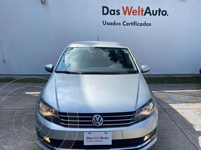 Foto Volkswagen Vento Sound usado (2018) color Plata Reflex precio $214,900