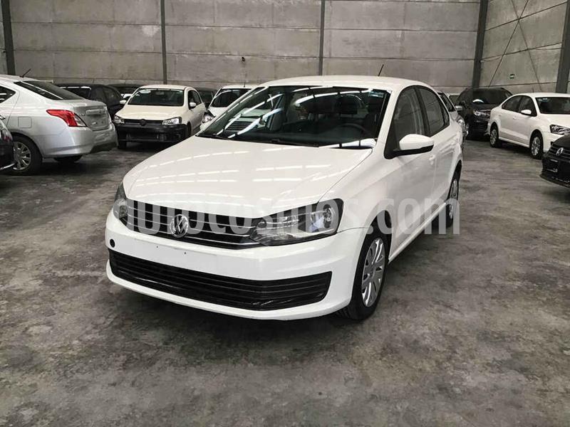 Volkswagen Vento Startline Aut usado (2017) color Blanco precio $70,000