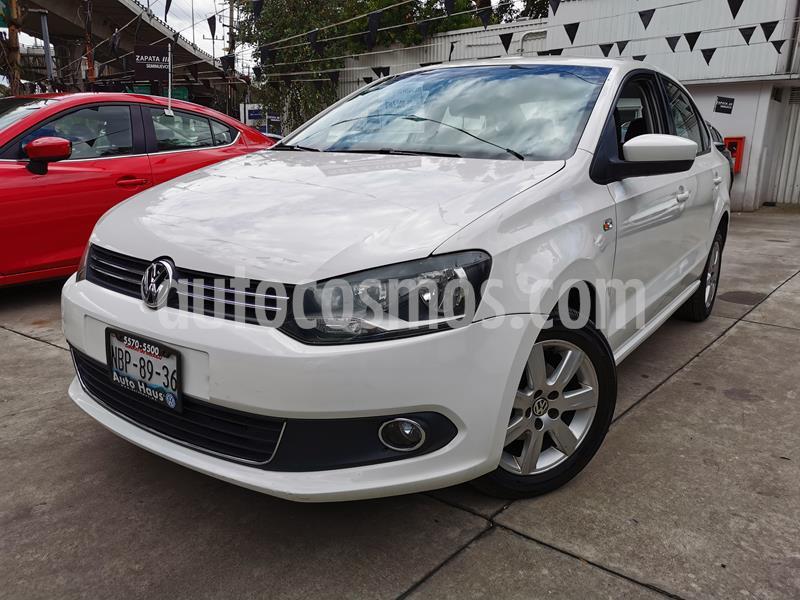 Volkswagen Vento Highline usado (2015) color Blanco Candy precio $140,000