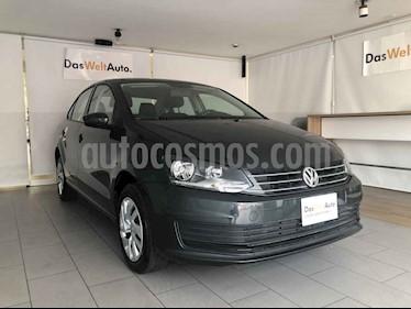 Volkswagen Vento 4p Starline L4/1.6 Man usado (2019) color Gris precio $215,000