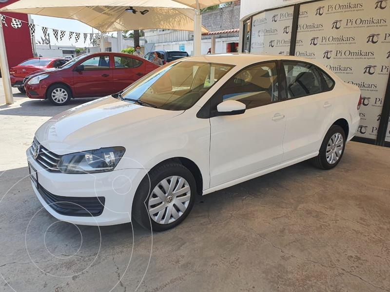 Foto Volkswagen Vento Startline Aut usado (2017) color Blanco precio $169,000