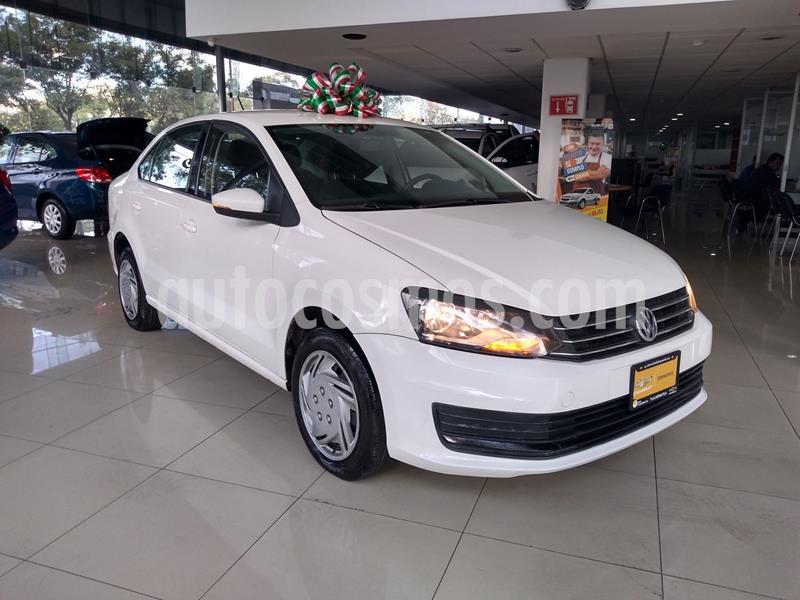 Volkswagen Vento Startline Aut usado (2018) color Blanco precio $155,000