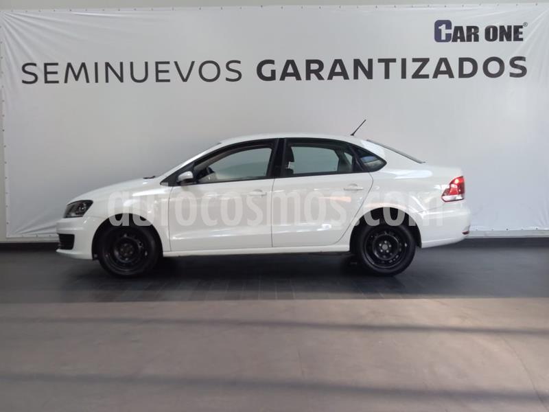 Volkswagen Vento Startline Aut usado (2018) color Blanco Candy precio $184,900