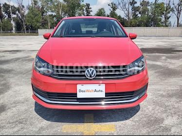 Volkswagen Vento Comfortline usado (2019) color Rojo Flash precio $229,000
