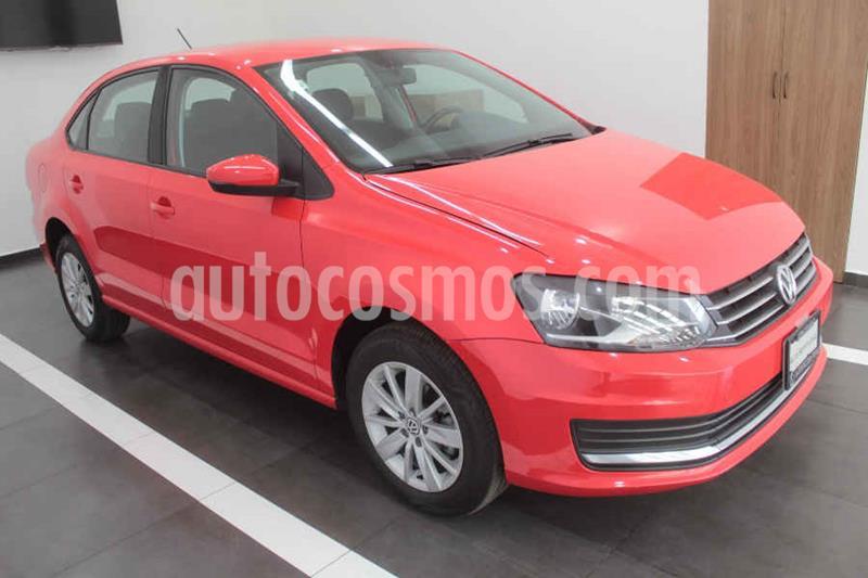 Volkswagen Vento Version usado (2018) color Rojo precio $205,000