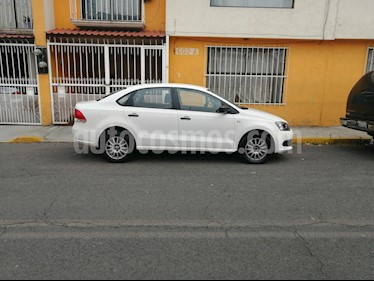 Volkswagen Vento Startline Aut usado (2015) color Blanco precio $127,500