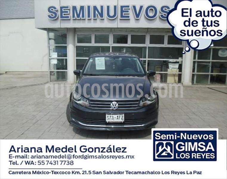 Volkswagen Vento CONFORTLINE L4/1.6 MAN usado (2016) color Gris Oscuro precio $145,000