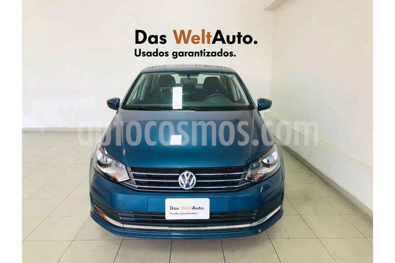 Volkswagen Vento Comfortline TDI usado (2019) color Azul precio $209,995
