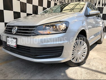 Volkswagen Vento Startline Aut usado (2020) color Plata Reflex precio $215,000
