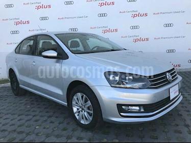 Volkswagen Vento 4p Highline L4/1.6 Man usado (2017) color Plata precio $178,001
