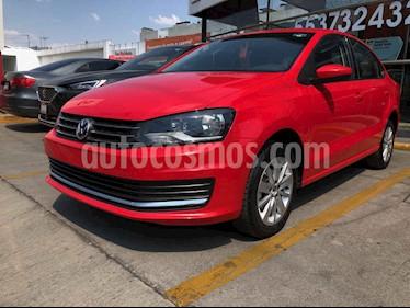 Volkswagen Vento 4p Confortline L4/1.6 Man usado (2019) color Rojo precio $196,990
