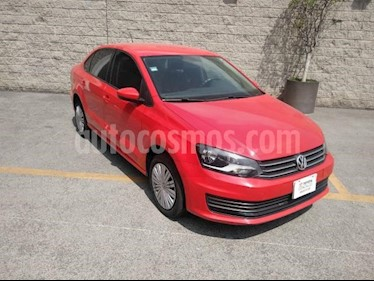 Volkswagen Vento 4P STARLINE AT R-15 usado (2020) color Rojo precio $205,000