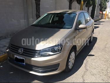 Volkswagen Vento Startline Aut usado (2018) color Beige Metalico precio $163,000