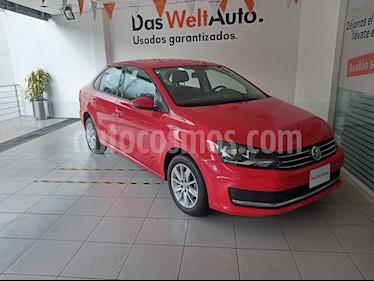 Volkswagen Vento Comfortline Aut usado (2018) color Rojo precio $179,000