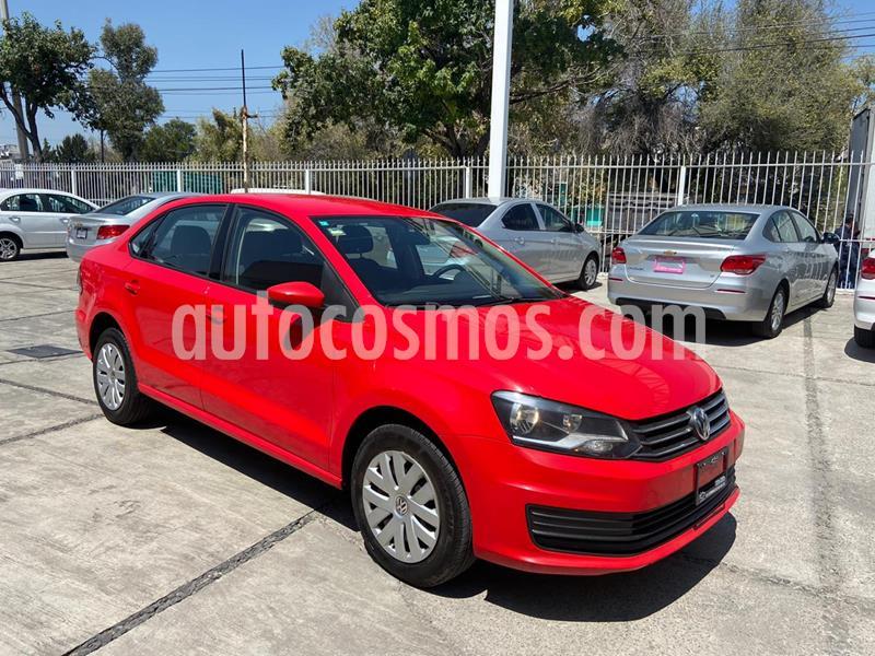 Volkswagen Vento Startline usado (2019) color Rojo Flash precio $169,000