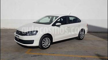 Volkswagen Vento Startline Aut usado (2019) color Blanco precio $189,800