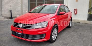 Volkswagen Vento Startline Aut usado (2018) color Rojo precio $190,000