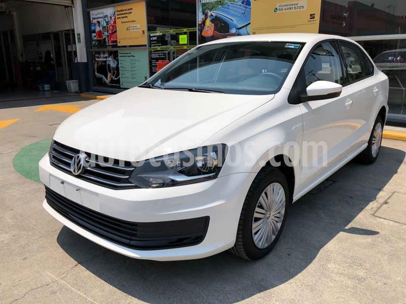 Volkswagen Vento Startline Aut usado (2020) color Blanco precio $207,990