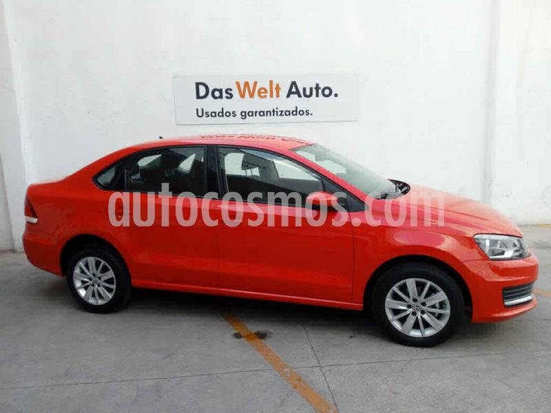 Volkswagen Vento Comfortline Aut usado (2019) color Rojo precio $229,000