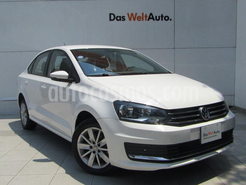 Volkswagen Vento Comfortline usado (2018) color Blanco Candy precio $189,000