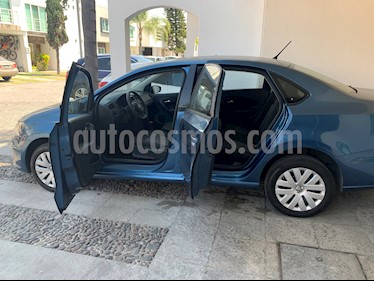 Volkswagen Vento Startline usado (2018) color Azul Noche precio $167,500
