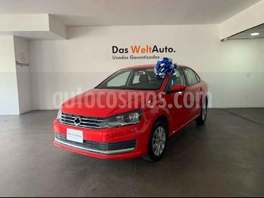 Volkswagen Vento Comfortline usado (2019) color Rojo precio $207,000