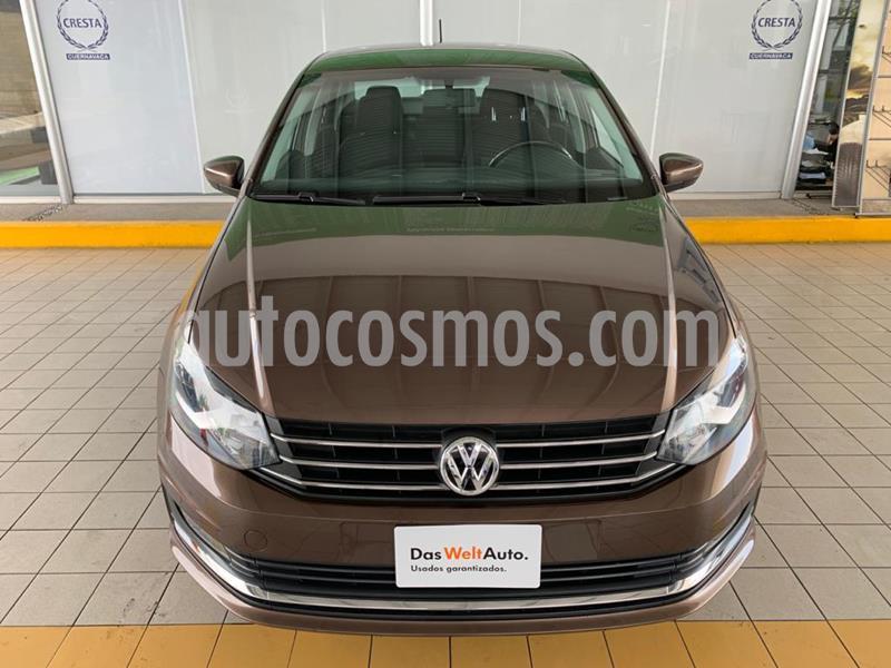Volkswagen Vento Highline Aut usado (2017) color Marron precio $184,900