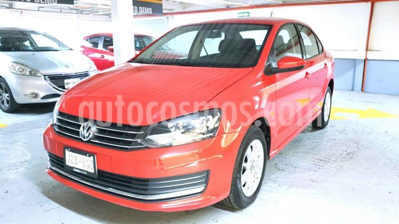 Volkswagen Vento Version usado (2018) color Rojo precio $215,000