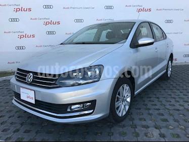 Volkswagen Vento 4p Highline L4/1.6 Man usado (2017) color Plata precio $178,000