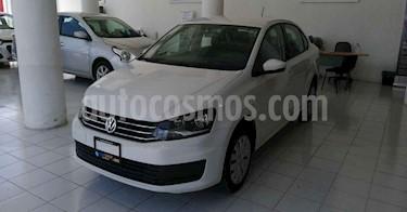 Foto Volkswagen Vento 4p Starline L4/1.6 Aut usado (2019) color Blanco precio $156,900