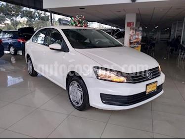 Volkswagen Vento 4P STARLINE L4/1.6 AUT usado (2018) color Blanco precio $155,000