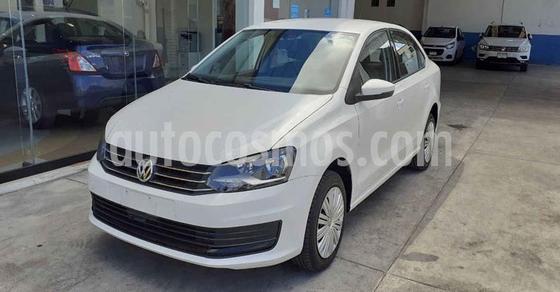 Volkswagen Vento 4p Starline L4/1.6 Aut usado (2020) color Blanco precio $186,900