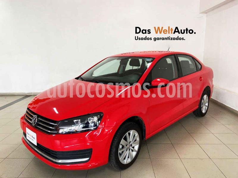 Volkswagen Vento Comfortline usado (2020) color Rojo precio $209,140