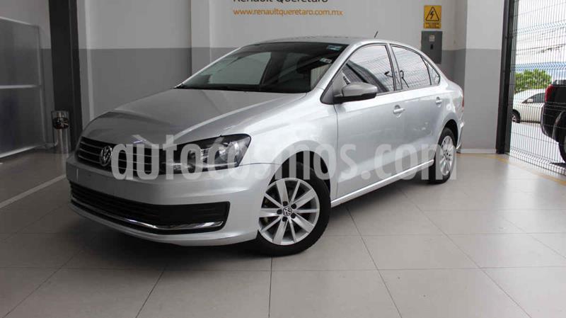 Volkswagen Vento Comfortline usado (2017) color Plata precio $155,000